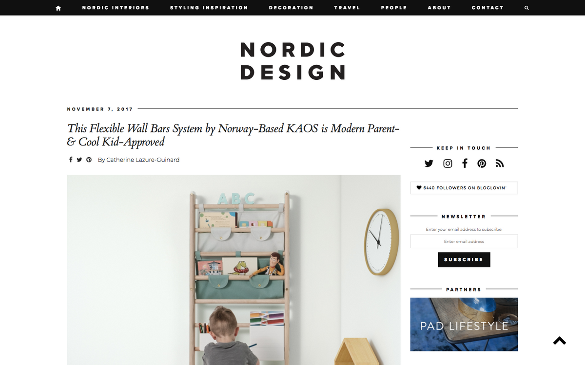 Endeløs feature on Nordic Design in Canada