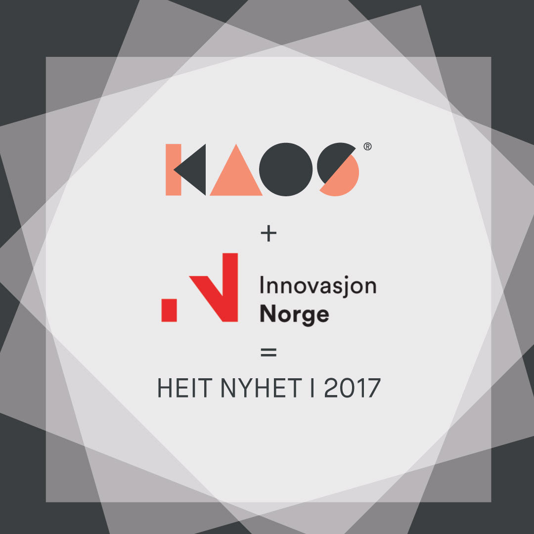KAOS receives funding from Innovation Norway