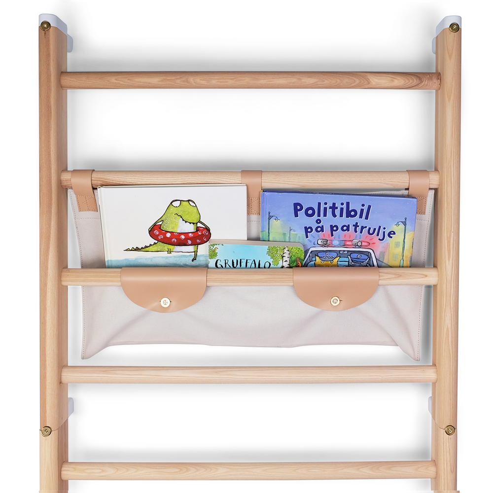 Outlet: Canvas shelf for wall-bars