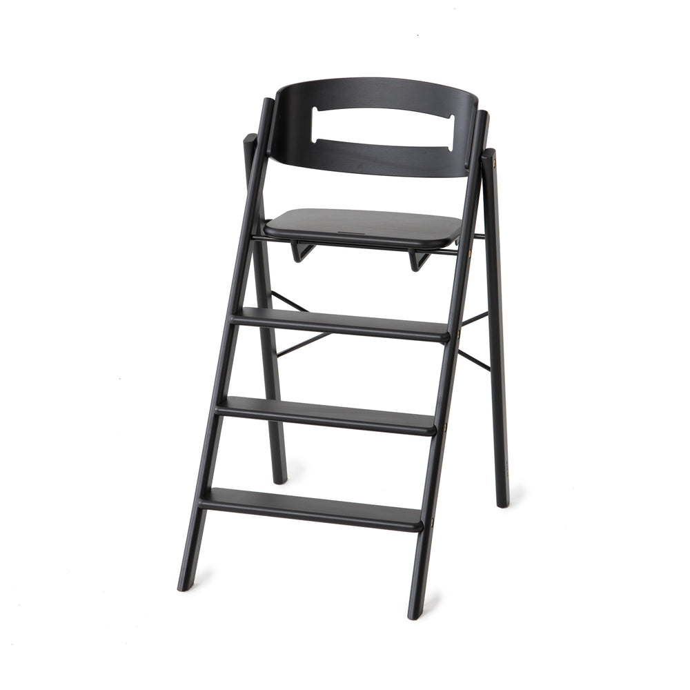 Klapp foldable high chair, Black