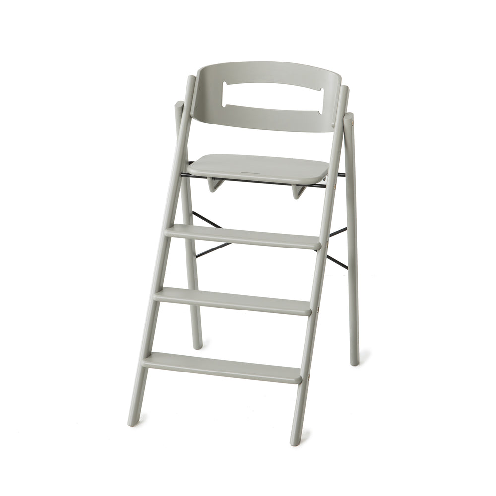 Klapp foldable high chair, Grey.