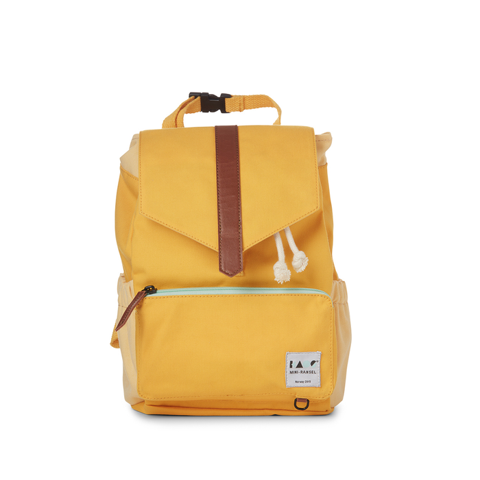 Kids backpack yellow