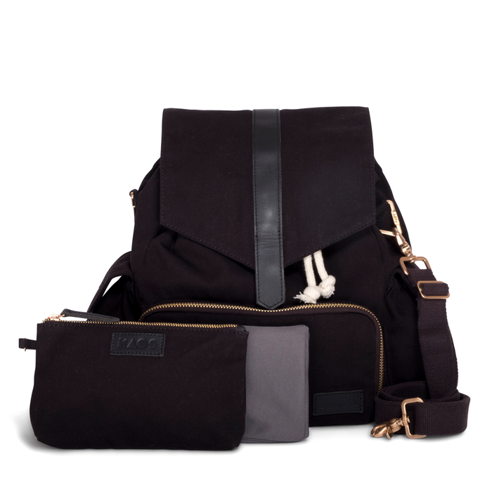 Baby changing bag black/black