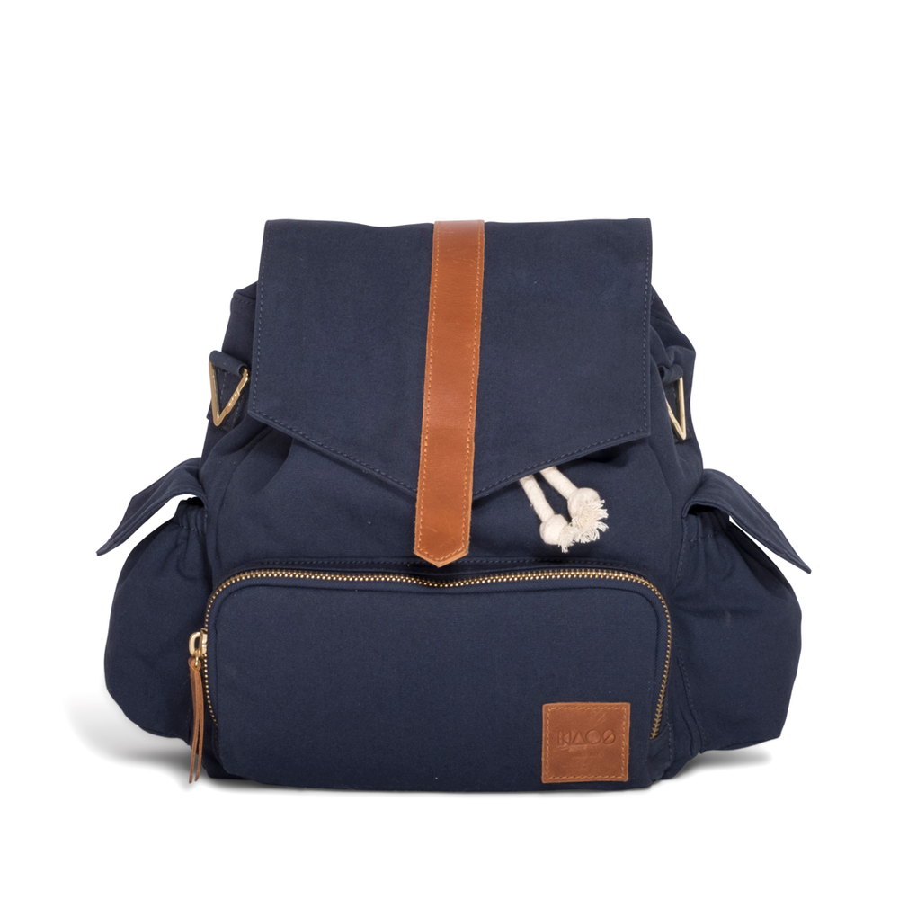 Baby changing bag blue