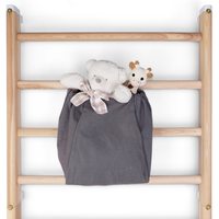 Outlet: Canvas Storage bag wall-bars