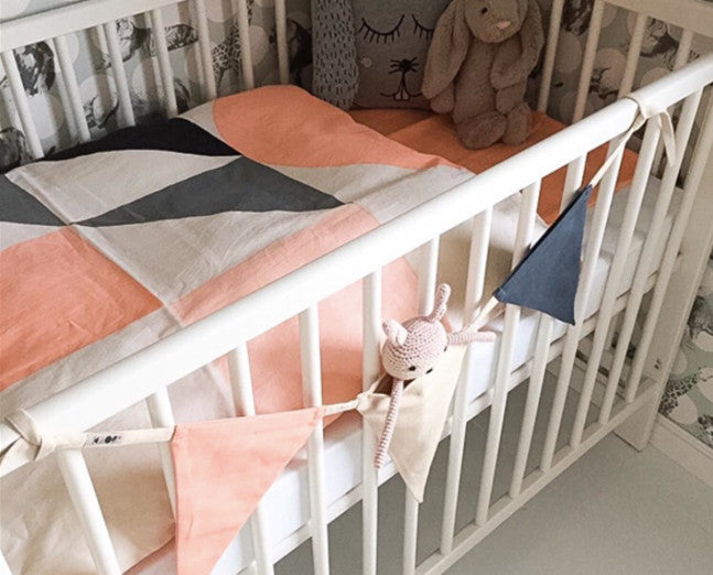 Bed linen children (peach)
