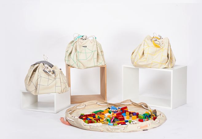 Samlesak storage bag, gray