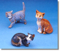 Cats - Set of 3