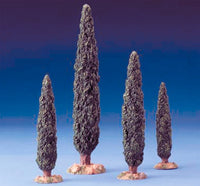 Cypress Trees - 4 Piece Set