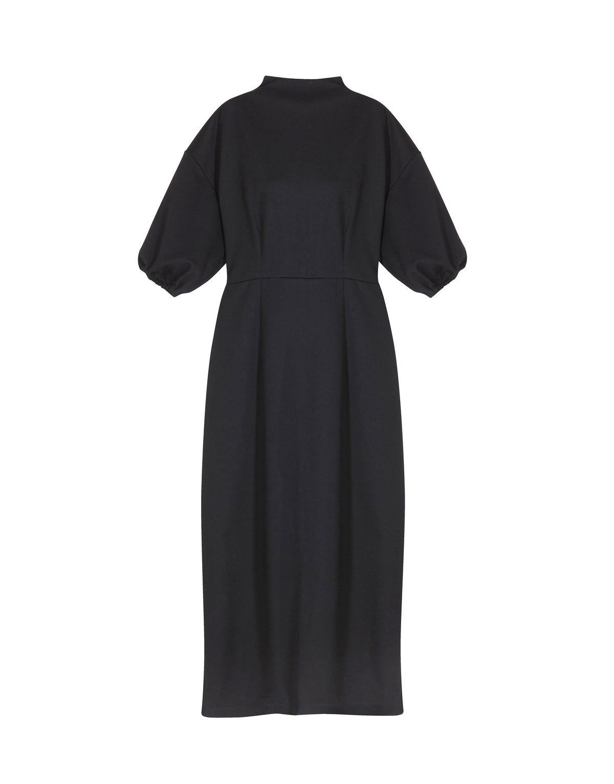 Elasticated Sleeve Dress