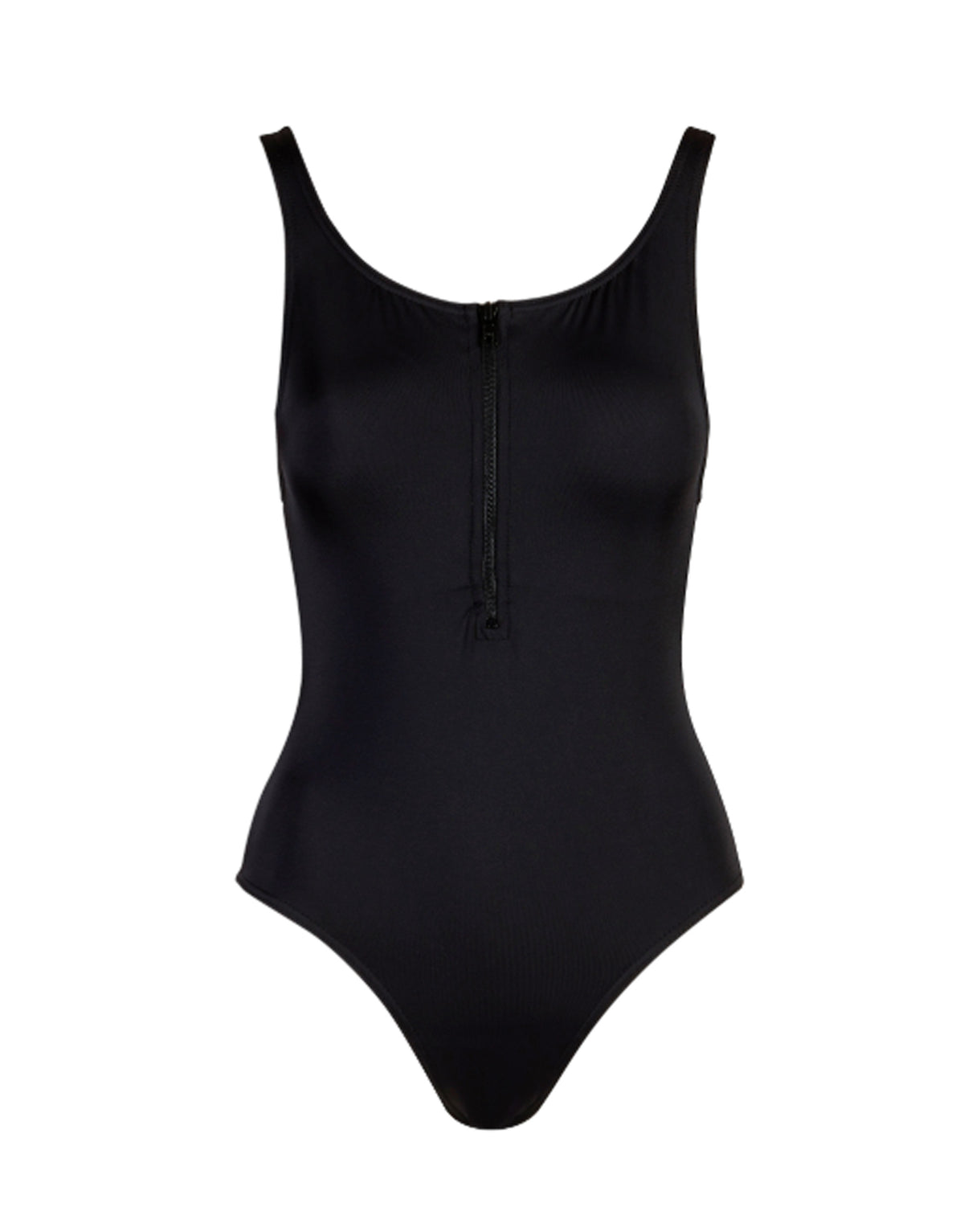 Front Zip Swimsuit