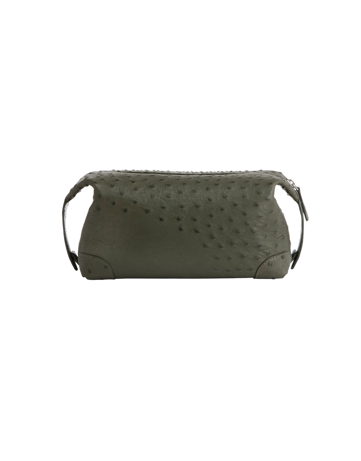 Genuine Ostrich Toiletry Bag