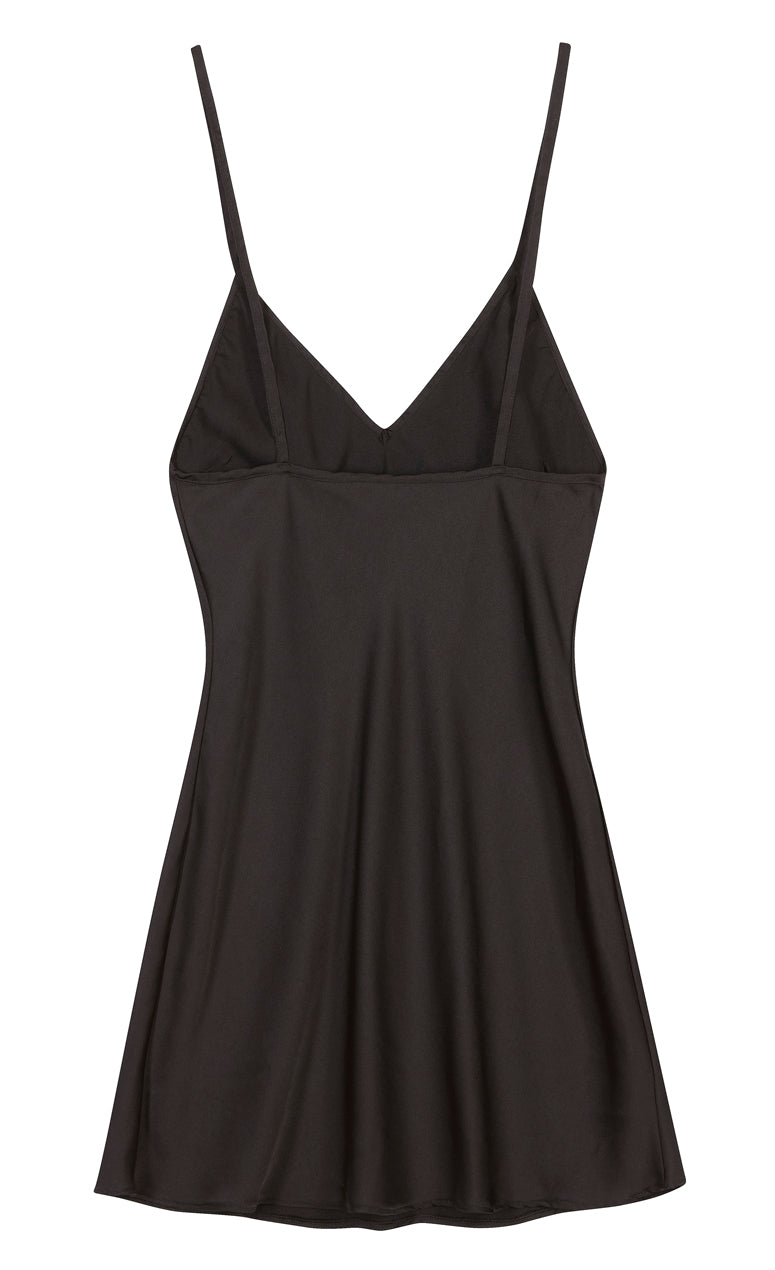 V- Neck  Slip Dress