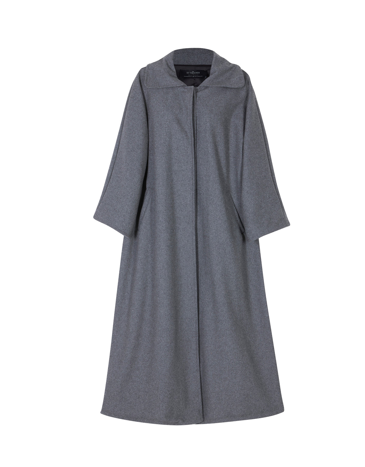 Long Buttoned Coat / Grey