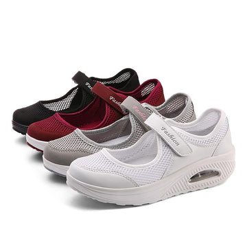 Women's casual mesh breathable non-slip sneakers