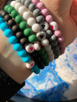 The Coated Bead Bracelet