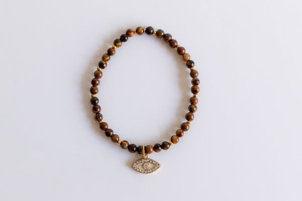 The Tigers 'Eye' Bracelet