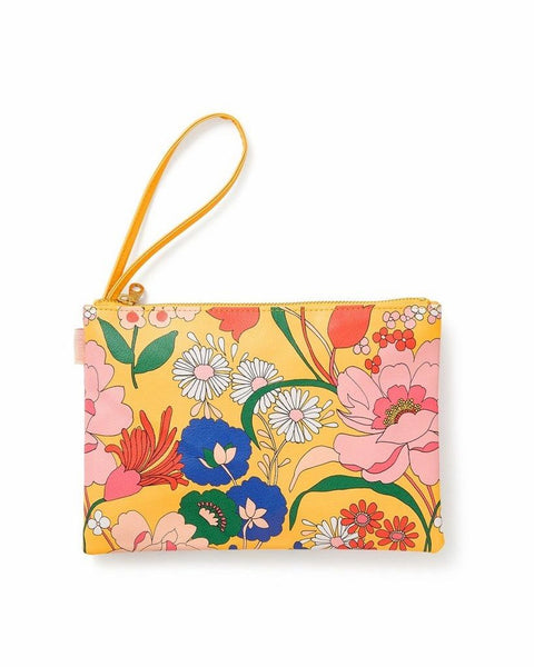 Ban.do Get It Together Wristlet Pouch, Superbloom Sunshine