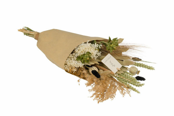 Dried Mixed Wildflower Bouquet - Natural
