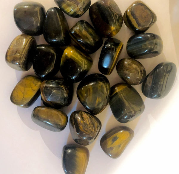 Tigers Eye Tumblestone