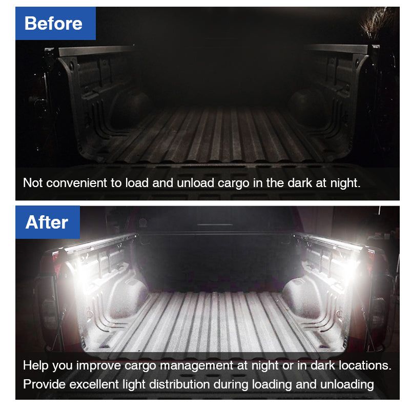 LED Bed Light/Lighting Kit Replaces for 2020 -Later Newer Toyota Tacoma