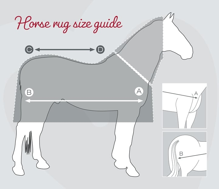 Horse Rug Size & Fit Guide