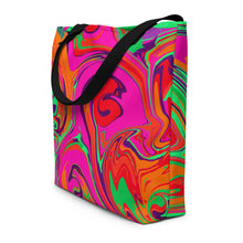 Load image into Gallery viewer, Neon Sea Tote Bag