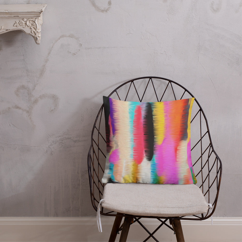 Bohemian Striped Premium Pillow