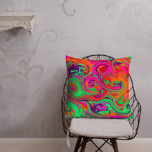 Load image into Gallery viewer, Neon Sea Premium Pillow