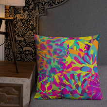Load image into Gallery viewer, Floral Blast Premium Pillow