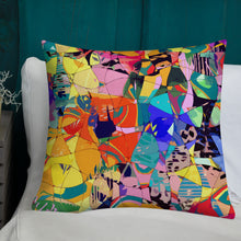 Load image into Gallery viewer, Urban Mosaic Premium Pillow