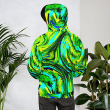 Load image into Gallery viewer, Neon Green Unisex Hoodie