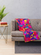 Load image into Gallery viewer, Rainbow Confetti Throw Blanket