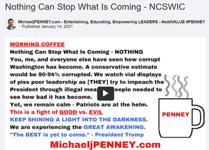 Nothing Can Stop What Is Coming - NCSWIC