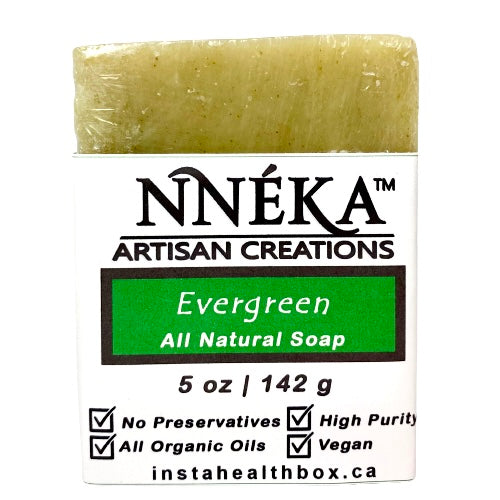 Evergreen Soap Bar