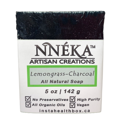 Lemongrass Charcoal Soap