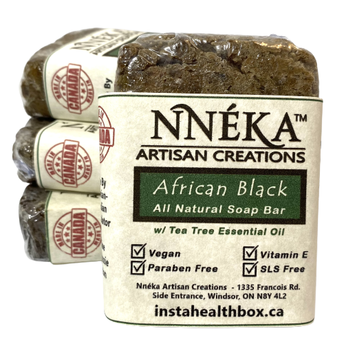African Black Soap – Tea Tree w/Aloe & Rose Water