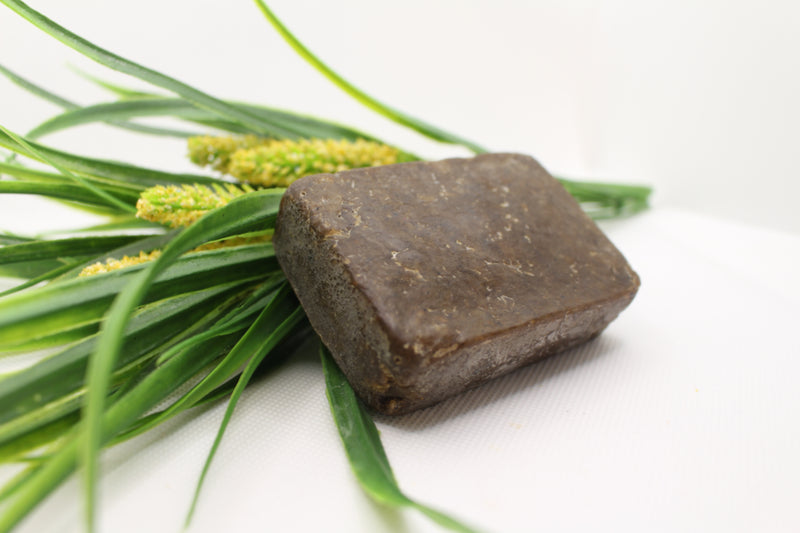 African Black Soap - Cedarwood w/Aloe & Rose Water