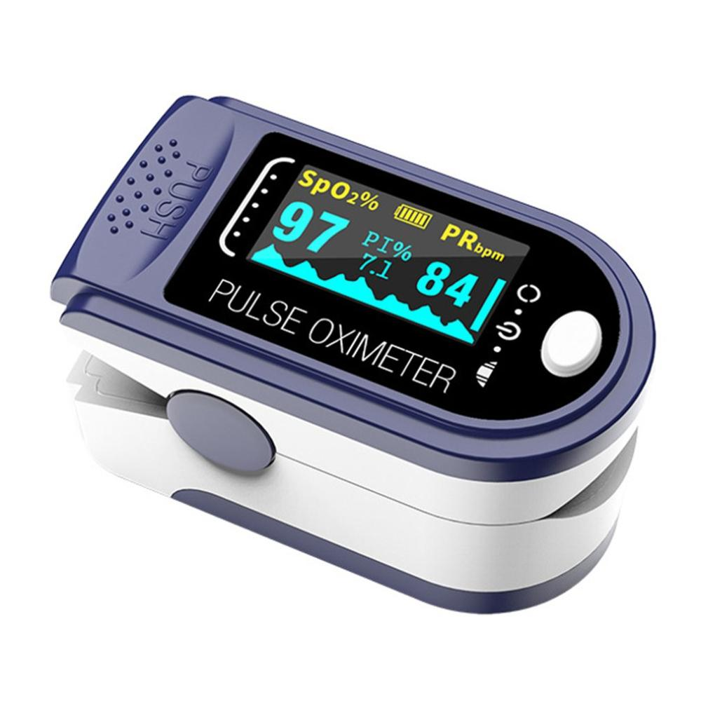 Oled Color Screen Portable Finger Oximeter Fingertip Pulse Oximeter Equipment Pulse Oximeter Home Heart Rate Monitoring