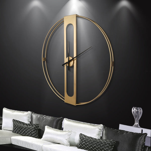 Brees- Large Modern Wall Clock