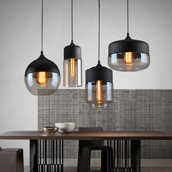 Bronx- Modern Nordic Glass Pendant Light
