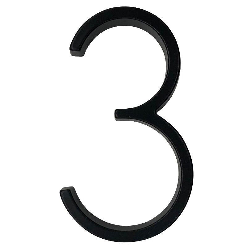 Modern Floating House Numbers