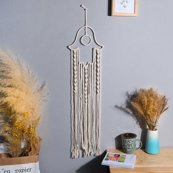 Rocket- Macrame Rocket Dreamcatcher Wall Hanging