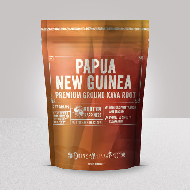 Papua New Guinea Kava Powder | Root of Happiness