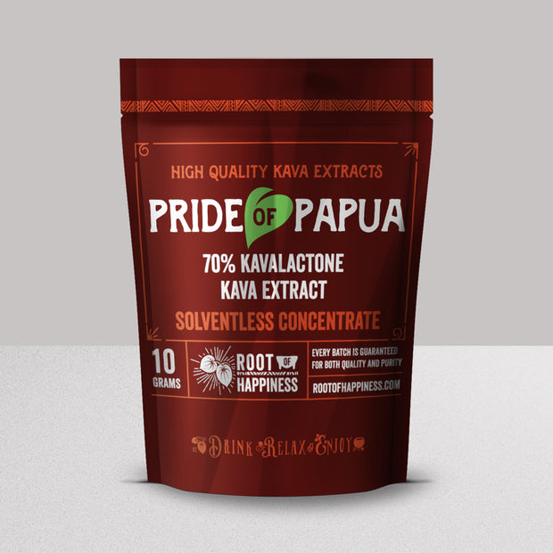 Pride of Papua 70% CO2 Extract - 10g Jar