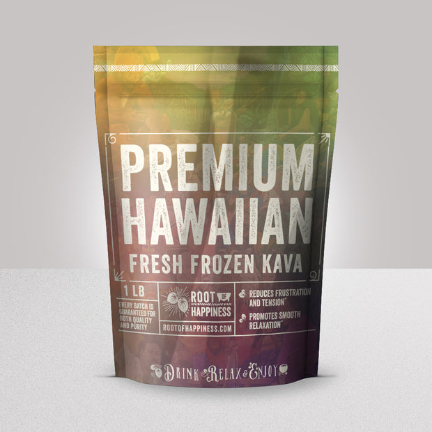 Fresh Frozen Hawaiian Kava - 1lb