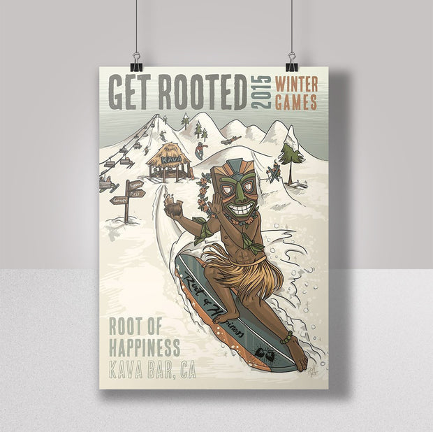 Root of Happiness Promo Poster - Get Rooted
