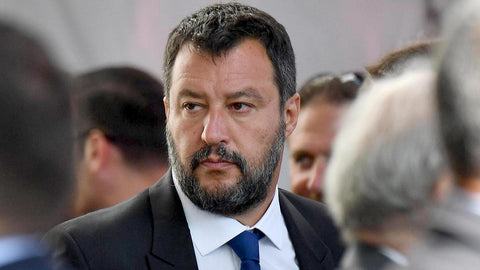 Stinky Butthead Mateo Salvini (leader of the far-right League party)