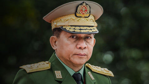 New worse dad, Min Aung Hlaing