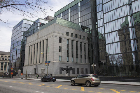 Our central bank, the Bank of Canada, in Ottawa